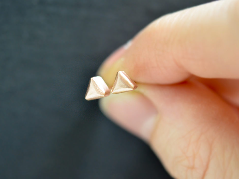 14k-Rose-Gold-Triangles-4