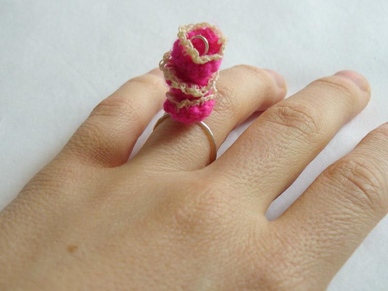 Ring-Crochet-Triple-Stack-Pink-Flower-2-W