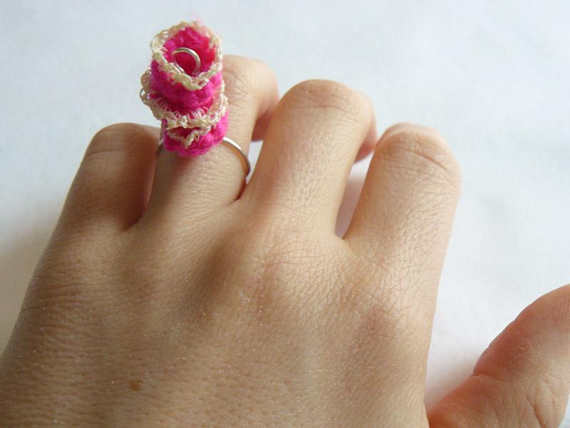 Ring-Crochet-Triple-Stack-Pink-Flower-3-W