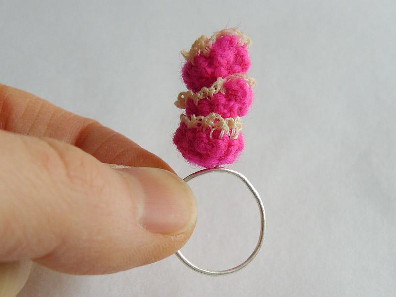 Ring-Crochet-Triple-Stack-Pink-Flower-4-W