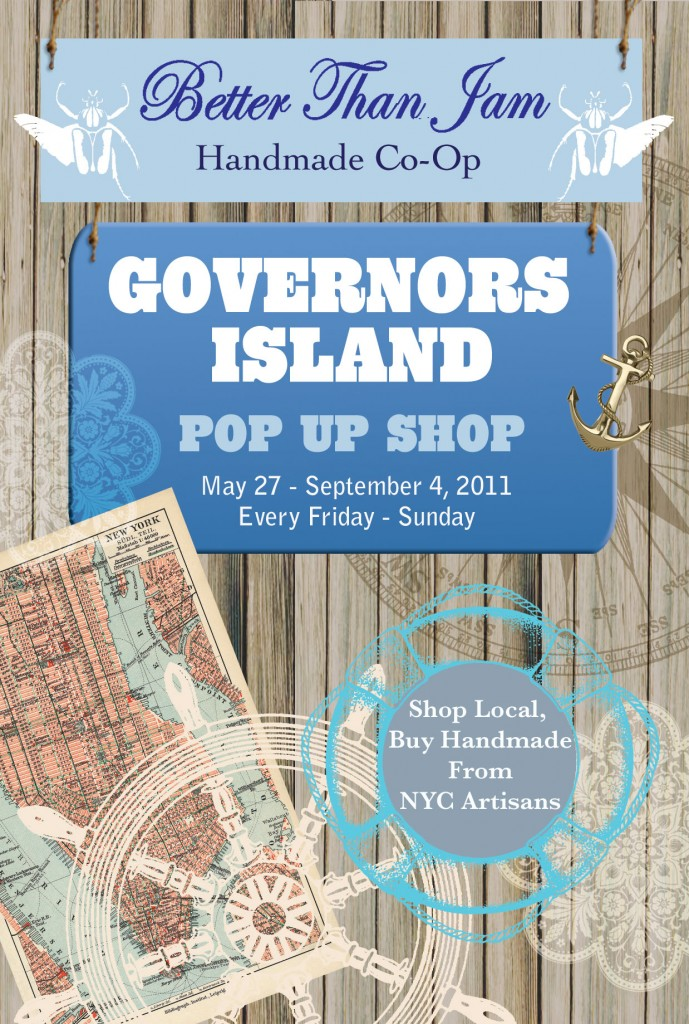Governor's Island Pop Up Shop