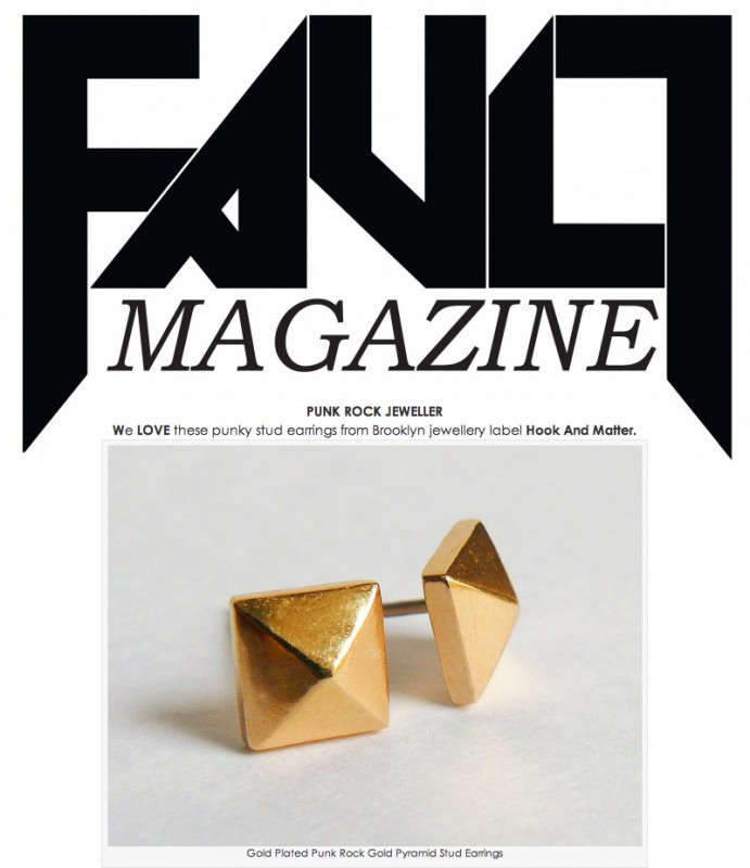 Fault Magazine Hook And Matter Feature