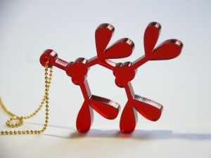 Holly Red Mistletoe To-Go Necklace