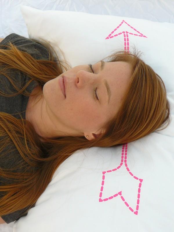 Neon Pink Bow & Arrow Pillowcase 5