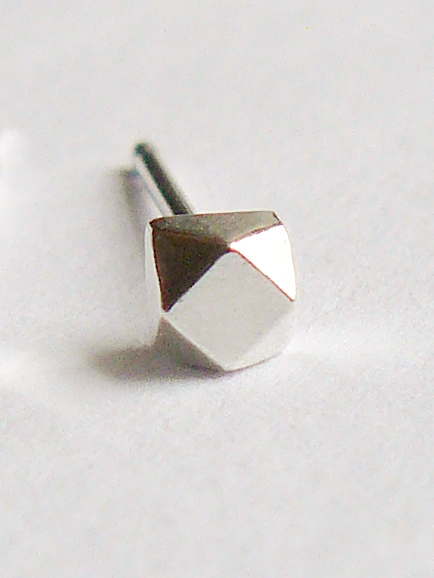 Silver-Faceted-Small-Single