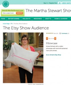 The Etsy Show Audience Martha Stewart Show