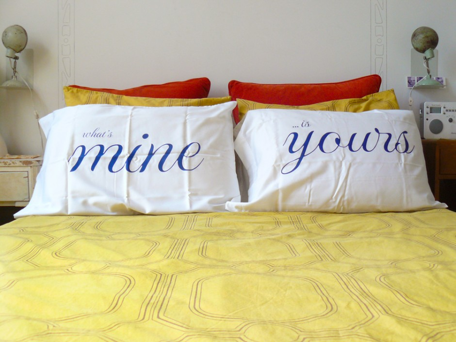 What's Mine Is Yours Romantic Pillowcases 2