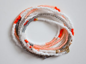 peach-gray-white-bead-necklace